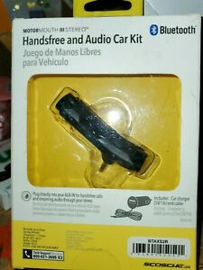 SCOSCHE MotorMouth 3 Stereo Handsfree and Audio Car Kit/BlueTooth