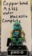 KRE-O GI JOE Copperhead A2355 Water Moccasin Action Figure COMPLETE Exclusive