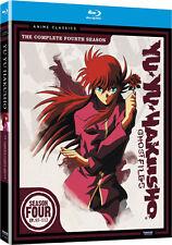 Yu Yu Hakusho . Ghost Files . The Complete Season 4 .. Anime .. 3 Blu-ray .. NEU