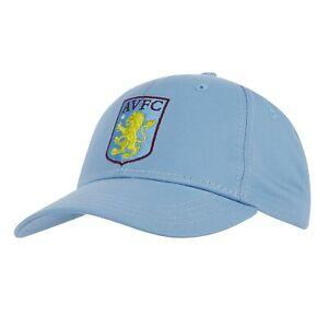 Aston Villa Sport Football Core Summer Cap Light Blue Adult Fan Gift