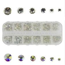 Diamant Effekt Nail Art Nageldesign DIY Sticker Strasssteine 3D Glitzer 2018 FL