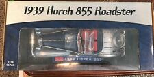 Sun Star 1939 Horch 855 Roadster Silver & Blue Convertible 1:18 Die-Cast #2403