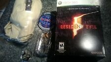 resident evil 5 360 2009 collectors edition box