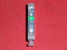 1 leere Patrone Canon Pixma CLI 8 Green leer mit Chip empty virgin CLI-8G Grün