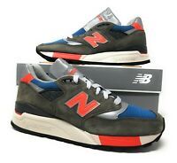 New Balance M998JC3 J Crew 998 Mens Sneakers Size 7 D Grey Classic Made in USA