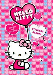 Hello Kitty Stickers Album + Sticker Collection ~ x2 Pc.