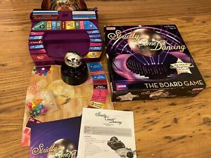 BBC Strictly Come Dancing Board Game Ideal Interactive Glitter Ball Sounds Theme