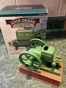 "John Deere Model ""E"" Hit & Miss Engine by Ertl - Battery Operated Working Model"