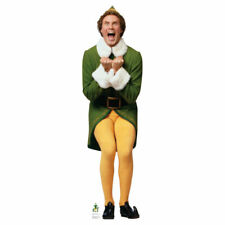 Advanced Graphics Buddy The Elf Excited Life Size Cardboard Cutout Standup - 20