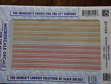 """Microscale Decal HO  #87-1154 WP Business Car 1 """"""""Feather River"""""""""""""""