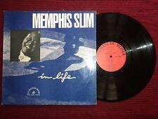 """LP MEMPHIS SLIM """"In life"""" LE CHANT DU MONDE LDX 7 4412 µ"""