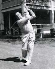 Legend Pro Golfer WALTER HAGEN Glossy 8x10 Swing Golf Photo Print Poster