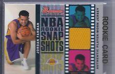 2006-2007 Bowman Basketball Jordan Farmar NBA Rookie Snap Shots Relics RC 22/199