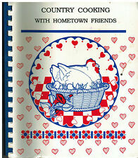 HARLEYVILLE SC 1992 COUNTRY COOKING WITH HOMETOWN FRIENDS COOK BOOK MIMS ACADEMY