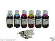 Refill ink for Epson  78 79 98 99 Stylus photo 1400 1430 6x100ml