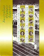 Australian Olympic Legends Collectors Pack - Mint Never Hinged