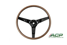1969 Mustang Woodgrain Steering Wheel Fits Mach 1 and Deluxe FREE SHIPPING LOOK!