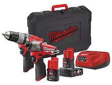 Milwaukee M12 12V Li-Ion Cordless 2-Tool Combo Kit - CPP2C-422C