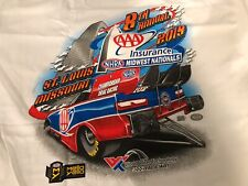 NHRA DRAG RACING 2019 MIDWEST NATIONALS T- SHIRT  SIZE 2X