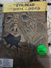 RARE THE EVIL DEAD BOOK OF THE DEAD  DVD LIMITED ED FLESH COVER BRUCE CAMPBELL