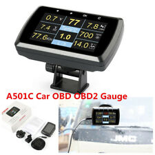 A501C Car Computer OBD OBD2 Gauge w/ Holder Driving Speed Meter Fuel Consumption