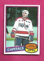 1980-81 TOPPS # 195 CAPITALS MIKE GARTNER  ROOKIE EX-MT  CARD (INV# D2449)