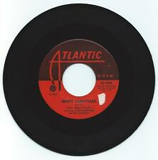 R & B 45 THE DRIFTERS WHITE CHRISTMAS ON  ATLANTIC  STRONG VG ORIGINAL RED LABEL