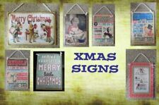 Unbranded Christmas Christmas Decorative Plaques & Signs
