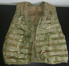 Military Army Mesh Vest Light Camouflage