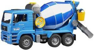 NEW Bruder 02744 MAN Cement Mixer Truck