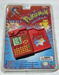 Pokemon Pokedex Handheld 1999 Tiger Electronics Vintage & Original SEALED Hasbro