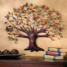 "Metal Artistic ""Tree of Life"" Connecting Family Wall Hanging Sculpture Art Decor"