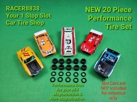 20 NEW Tires AFX AURORA MAG & NON-Mag front O-RINGS & REAR SILICONES HO Slot Car