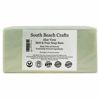 2 lbs Aloe Vera Melt And Pour Soap Base DIY Making Supplies