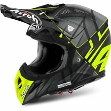 Airoh Helmet Av22sy31 off Road Aviator 2.2 Styling Yellow Matt L