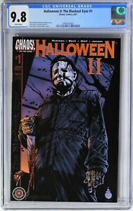 S275 HALLOWEEN II THE BLACKEST EYES #1 Chaos! CGC 9.8 NM/MT 2001 LIMITED TO 3000