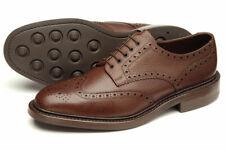 Loake Simon Leather Brouge Shoes UK 8