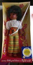 """1970's Regal 18"""" Liza Doll in Original Sealed Bilingual Box."""