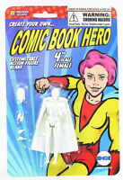 EMCE TOYS CUSTOM create your own COMIC BOOK HERO Female action figure kit 3.75