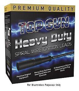 Top Gun Spark Plug Lead Set TG4703 fits Subaru Impreza 2.0 (GC), 2.0 (GC) 92k...
