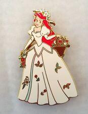 Disney Princess Garden Ariel the Little Mermaid wedding dress LE 1000 Pin