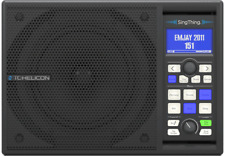 TC-Helicon SingThing All-In-One Vocal Processor w Speaker, Mic & Cables