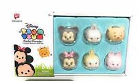 Disney Tsum Tsum Vinyl Pastel Parade Gift Set 6 Limited Edition Mickey Minnie