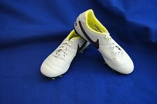 Nike JR Tiempo Rio III Soccer Cleat YOUTH 819198-053 YOUTH Platinum Size 4Y