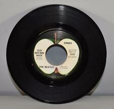 Rock The Beatles 45RPM Capitol Records Mint- Old Brown Shoe, The Ballad Of John