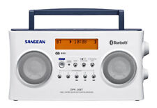 Sangean DPR26BTWH DAB+ / FM-RDS Portable Digital Radio - White