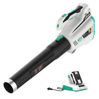 LitheLi  Leaf Blower 40V Cordless Brushless w/ 2.5AH Battery & Charger 480CFM