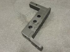 "12"" Drop Hitch - Heavy Duty Boxed Steel Frame and Powdercoated"