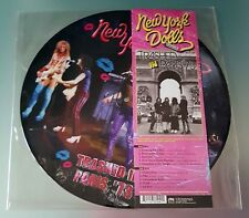 New York Dolls Trashed in Paris '73 Picture Disc Lp Vinile