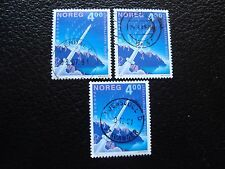 NORVEGE - timbre yvert et tellier n° 1020 x3 obl (A04) stamp norway (Z)